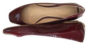 Kate Spade Ballet Comfortable Ruby Vintage Patent Flats