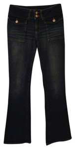 Kenneth Cole Stretch Denim Boot Cut Pants