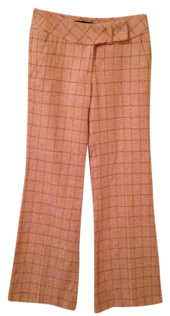 Arden B. Trouser Pants Pink Plaid