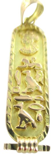 Preload https://item5.tradesy.com/images/gold-18kt-solid-yellow-pendant-cartouche-egyptian-symbol-charm-1213129-0-0.jpg?width=440&height=440