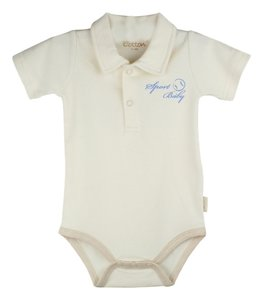 Eotton Certified Organic Cotton Baby Bodysuit - Sport Baby - Large (9-12 Months)