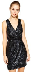ASOS Little Sequin Short Sequin Mini Dress