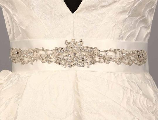 Bridal White (Silk White) Your Dream Dress Exclusive B563 Embellished Sash