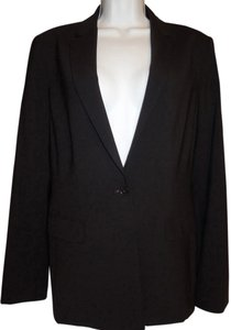 Elie Tahari Women's Career Wool Black Blazer