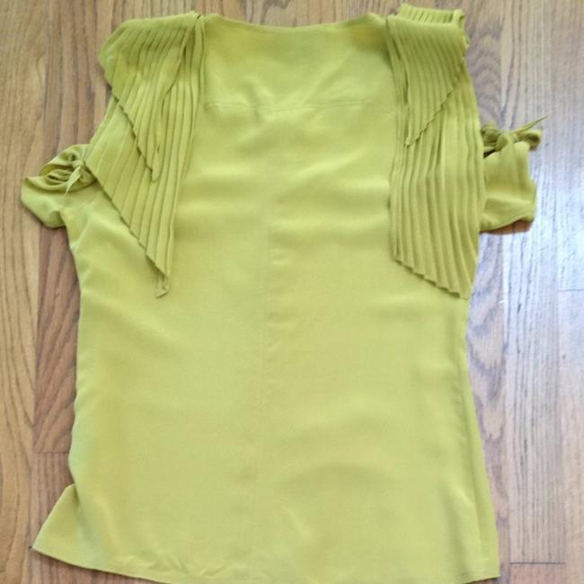Vena Cava Top Mustard Yellow