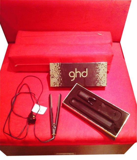 """Item - Gold / Black Limited Edition 1"""" Flat Iron I Hair Accessory"""