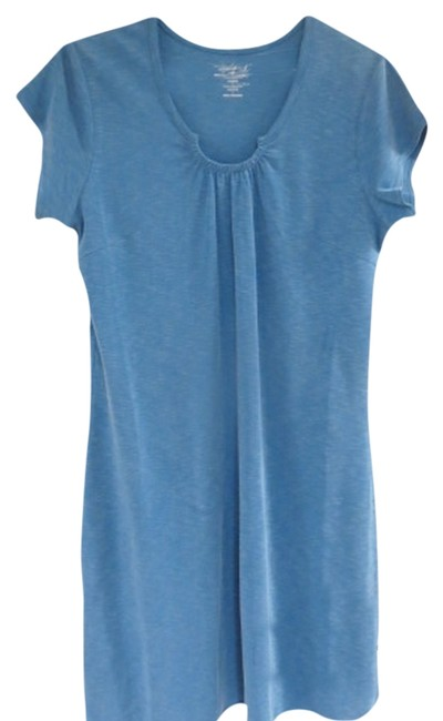 Preload https://item2.tradesy.com/images/woolrich-blue-paradise-knee-length-short-casual-dress-size-14-l-1213331-0-0.jpg?width=400&height=650