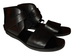 Vince Leather 7m Dust Bag Like New Black Sandals