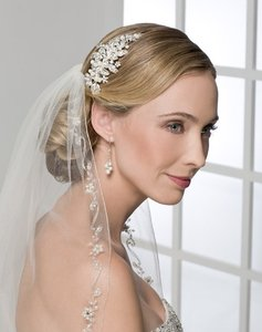 Bel Aire Bridal Comb 6202 Beaded Comb -