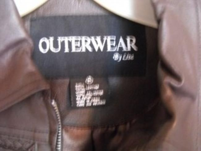 Outerwear by Lisa Brown Leather Jacket