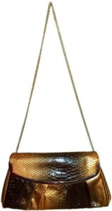 ALDO Snake Print Hardware Cross Body Bag