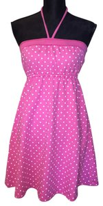 Victoria's Secret short dress Pink & White on Tradesy
