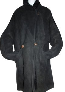 CALAFATE Shearling Lambswool Fur Fur Coat