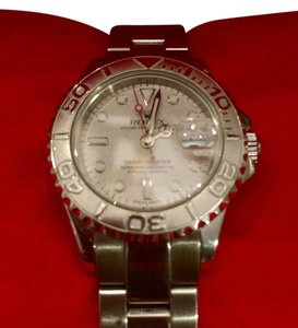 Rolex Rolex Yachtmaster 16622 Platinum Watch 29mm Female's watch