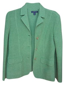 Lands' End Wear To Work Green Blazer