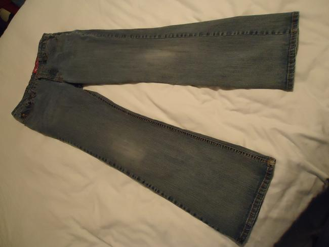 GLO Jeans Juniors Size 11 Flare Leg Jeans-Medium Wash