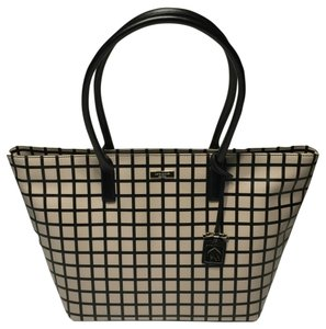Kate Spade Brightwater Drive Plaid Jules Tote in Bicolor Plad