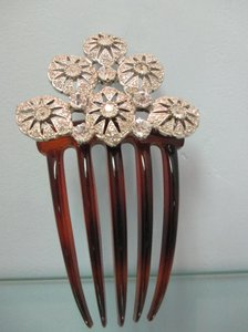Crystal Comb Hair Accessory