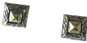 Scott Kay NEW 18 kt. GOLD & SILVER CUFF LINKS BY Scott Kay
