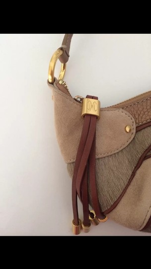 Cole Haan Brown, Tan, Bronze, Gold & Burgundy Clutch