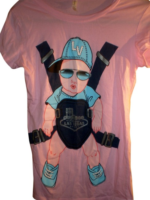 Preload https://item5.tradesy.com/images/reserved-pink-the-hangover-movie-cute-and-funny-baby-in-shades-tee-shirt-size-6-s-1214434-0-0.jpg?width=400&height=650
