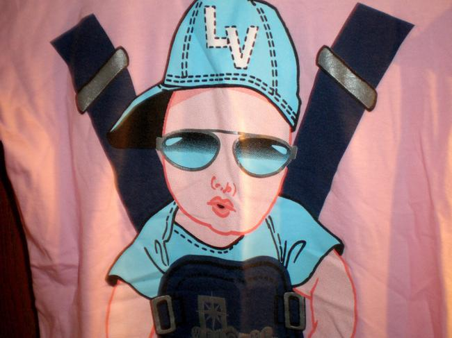 Reserved Funny Las Vegas The Hang Over Cute Movie Sunglasses Shades T Shirt Pink