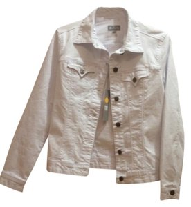 Tractr Jeans Top White