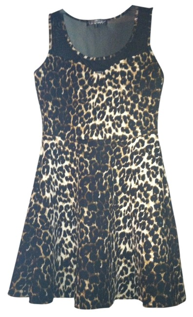 Preload https://item3.tradesy.com/images/almost-famous-dress-animal-print-1214492-0-0.jpg?width=400&height=650