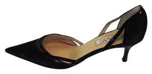Isaac Made in Italy Toe Black Pumps