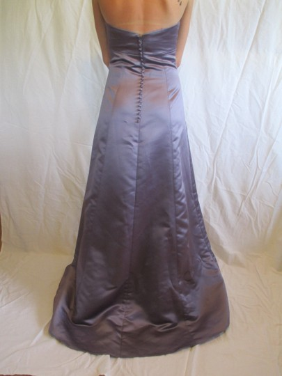 Vera Wang Lilac / Purple Acetate Formal Bridesmaid/Mob Dress Size 4 (S)