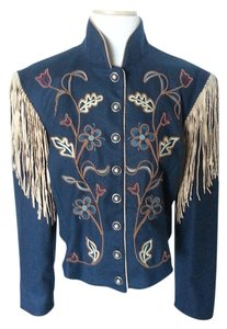 Double D Ranchwear Dark Blue Jacket