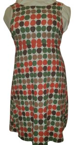 J.Crew short dress multi Polka Dot Cotton Scoop Back on Tradesy