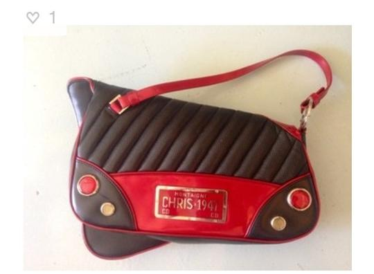 Dior Black And Red Clutch