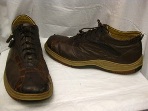 Alligator/ostrich/leather Hightop Sneakers Shoes Max Leather Usa Sz 13