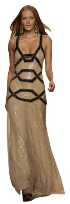 Preload https://img-static.tradesy.com/item/1214954/jenny-packham-nude-black-pearl-sequined-silk-gown-with-sequin-criss-cross-straps-and-brass-beading-l-0-0-650-650.jpg