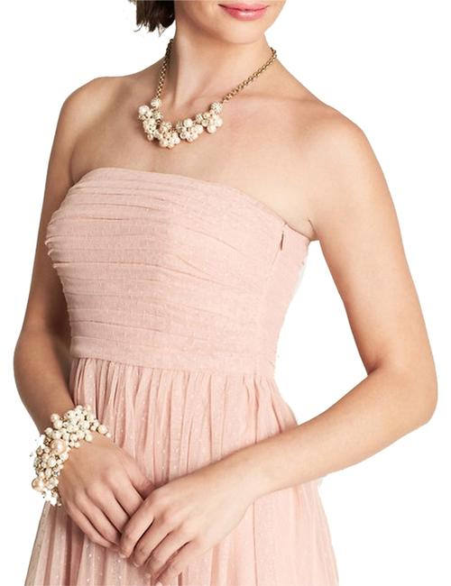 Item - Pink Strapless Style #317998 Knee Length Formal Dress Size 6 (S)