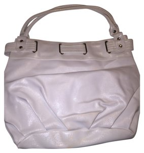 Charlotte Russe Tote in White