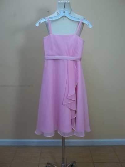 Impression Bridal Pink Chiffon 1645 Formal Bridesmaid/Mob Dress Size OS (one size)