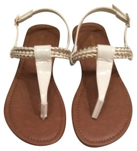 City Classified White Sandals