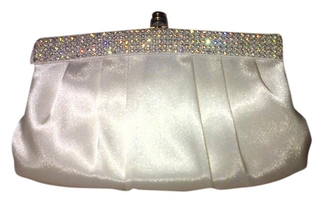 Item - Formal Ivory Charmeuse Clutch