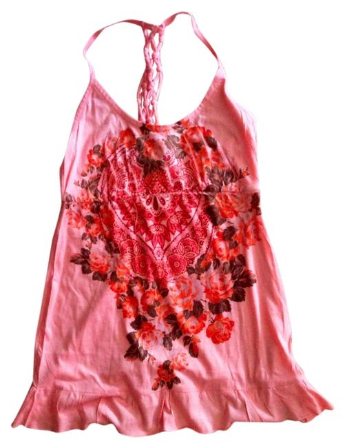 Preload https://item1.tradesy.com/images/decree-peachpink-with-flowers-tank-topcami-size-4-s-1215530-0-0.jpg?width=400&height=650