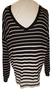 Lane Bryant Color-blocking Striped Sweater