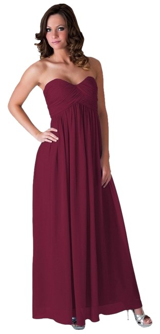 Preload https://item1.tradesy.com/images/red-strapless-sweetheart-chiffon-long-formal-dress-size-0-xs-121565-0-0.jpg?width=400&height=650