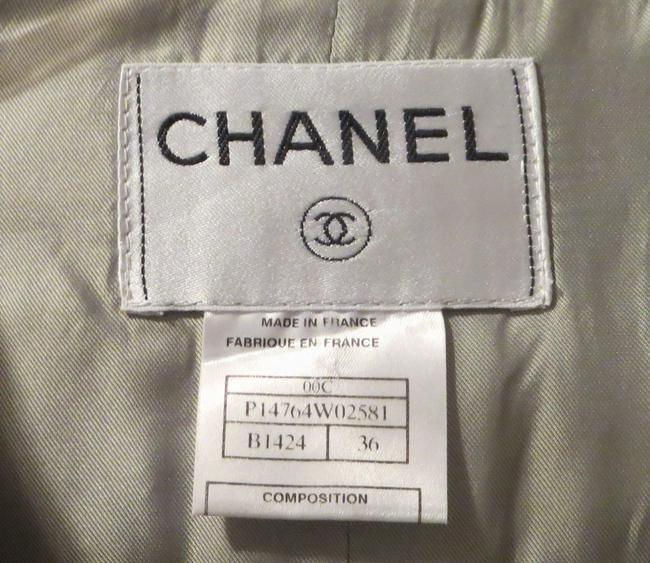 Chanel Boucle Tweed Made In France Classic Multi-color Blazer Image 1
