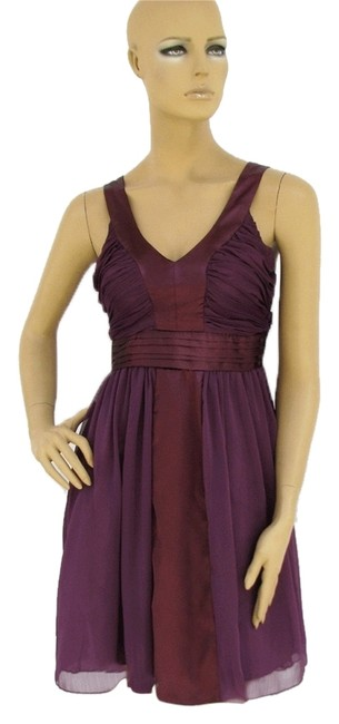 Preload https://item5.tradesy.com/images/purple-satin-and-chiffon-straps-pleated-above-knee-cocktail-dress-size-16-xl-plus-0x-121569-0-0.jpg?width=400&height=650