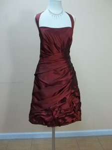 Impression Bridal Ruby Taffeta 20002 Formal Bridesmaid/Mob Dress Size 12 (L)