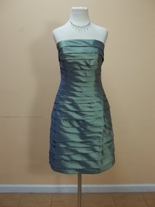 Impression Bridal Sage 20018 Formal Bridesmaid/Mob Dress Size 10 (M)