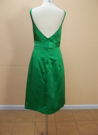 Impression Bridal Shamrock Satin 20021 Formal Bridesmaid/Mob Dress Size 12 (L)