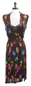 Marc Jacobs short dress 100% Silk Floral on Tradesy