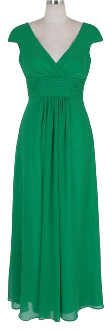 Preload https://item1.tradesy.com/images/green-elegant-pleated-waist-mini-sleeves-formal-long-cocktail-dress-size-22-plus-2x-121585-0-0.jpg?width=400&height=650